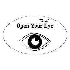 Open Your Third Eye Sticker