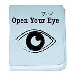 Open Your Third Eye baby blanket