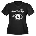 Open Your Third Eye Plus Size T-Shirt