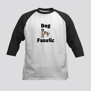 Dog Fanatic Kids Baseball Jersey