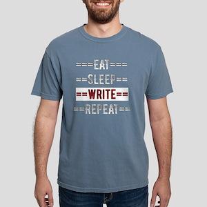 Eat Sleep Write Repeat Gift for Writers T-Shirt