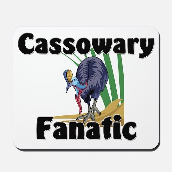 Cassowary Fanatic Mousepad
