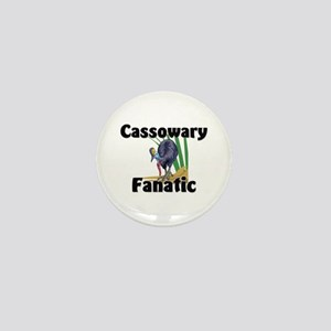Cassowary Fanatic Mini Button