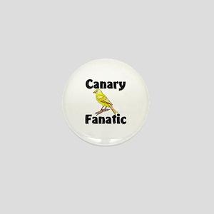 Canary Fanatic Mini Button