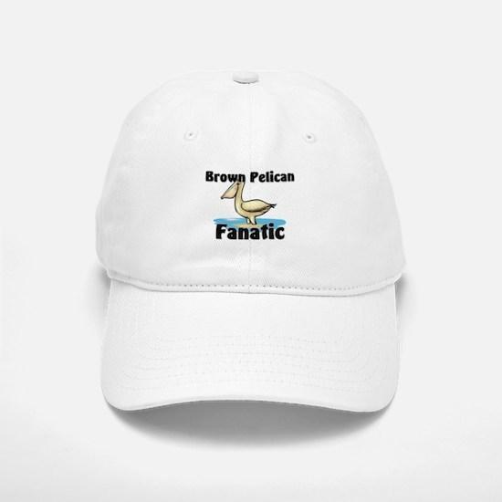 Brown Pelican Fanatic Baseball Baseball Cap