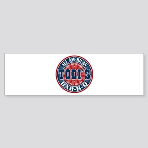 Tobi's All American BBQ Bumper Sticker
