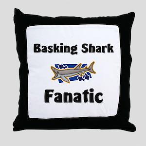 Basking Shark Fanatic Throw Pillow