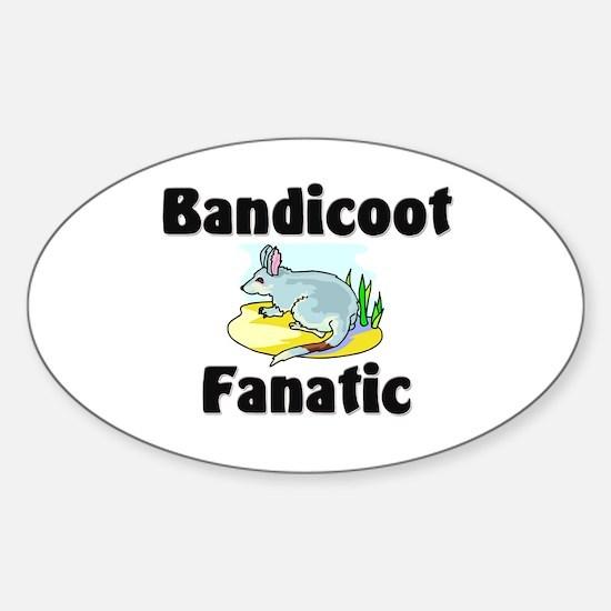 Bandicoot Fanatic Oval Decal