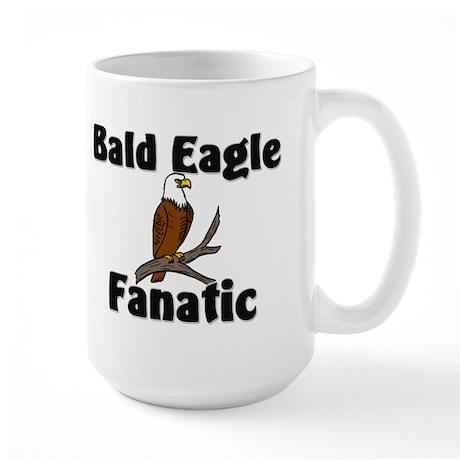 Bald Eagle Fanatic Large Mug