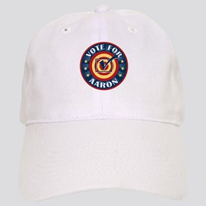 Vote for Aaron Personalized Cap