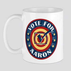 Vote for Aaron Personalized Mug