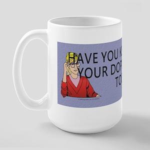 Doppleganger Fun Large Mug