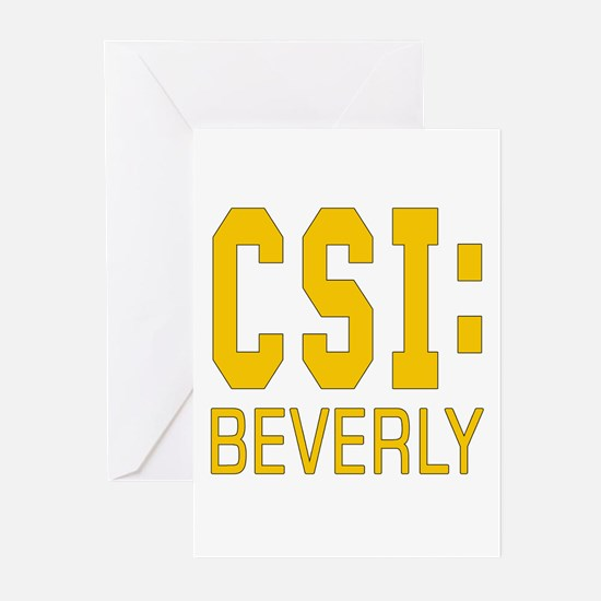 Personalized CSI Beverly Greeting Cards (Pk of 10)