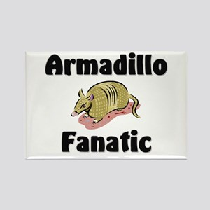 Armadillo Fanatic Rectangle Magnet