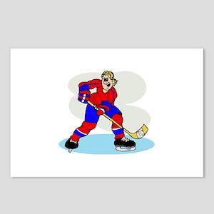 Hardcore Hockey Girl Postcards (Package of 8)