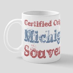 Certified Michigan Souvenir Mug