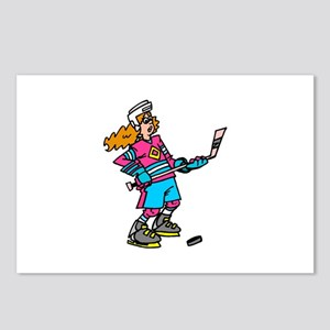 Hockey Chick Postcards (Package of 8)