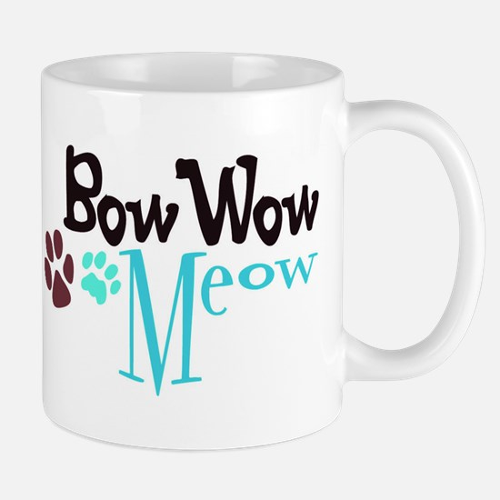 Bow Wow Meow Mug