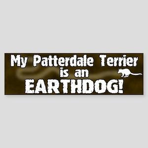 Patterdale Terrier Earthdog Bumper Sticker
