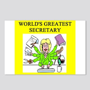 secretary gifts t-shirts Postcards (Package of 8)