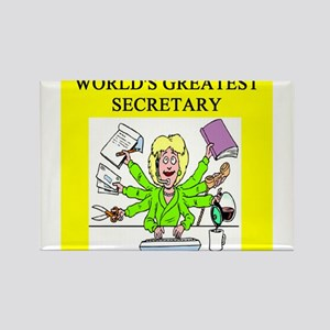 secretary gifts t-shirts Rectangle Magnet