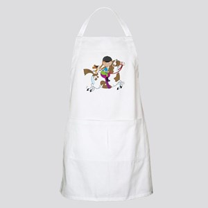Horsey Holly BBQ Apron