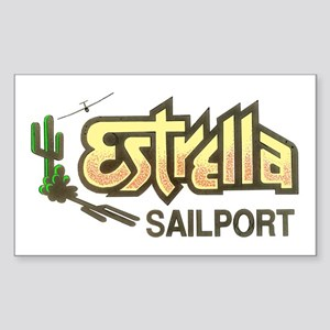 ESTRELLA SAILPORT Rectangle Sticker