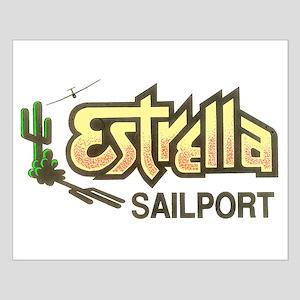 ESTRELLA SAILPORT Small Poster