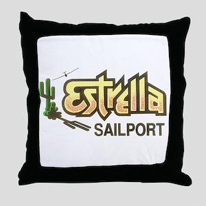ESTRELLA SAILPORT Throw Pillow