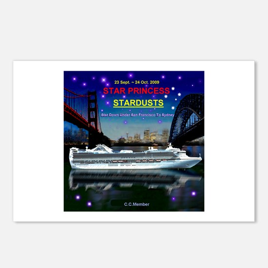 StarDUSTS Logo- Postcards (Package of 8)