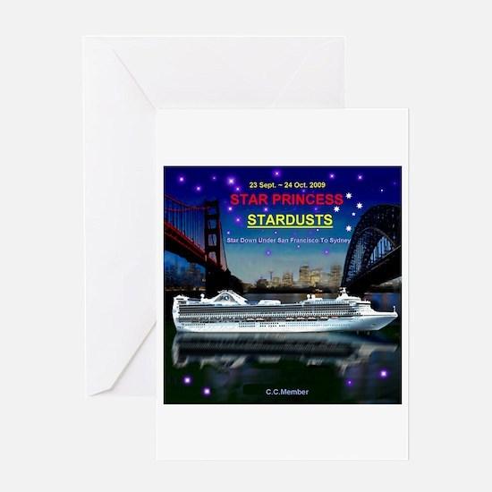 StarDUSTS Logo- Greeting Card