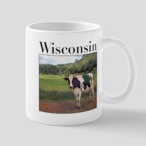 Wisconsin Cow Mug