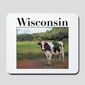 Wisconsin Cow Mousepad