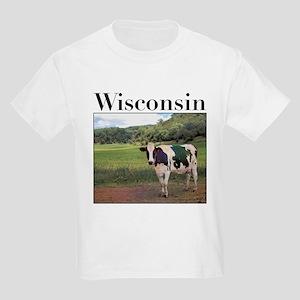 Wisconsin Cow Kids Light T-Shirt