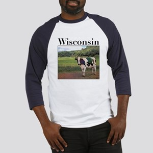 Wisconsin Cow Baseball Jersey