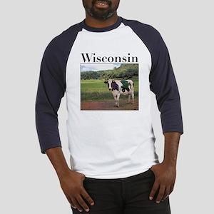 Wisconsin Cow Baseball Jersey