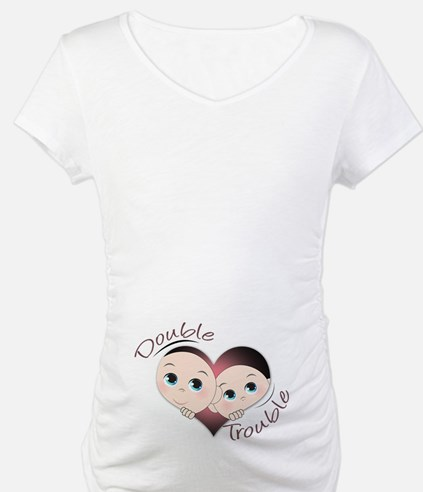 Cute Double Trouble Twins Shirt