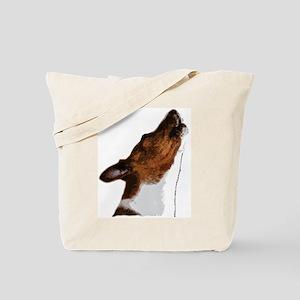 Basenji Yodels Tote Bag