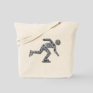 Ice Skater Tote Bag