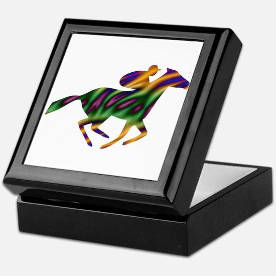 Horseback Ride Keepsake Box