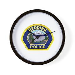 Redding Police Wall Clock
