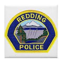 Redding Police Tile Coaster