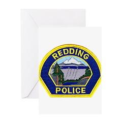 Redding Police Greeting Card