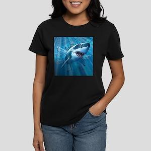 Great White 2 Women's Dark T-Shirt