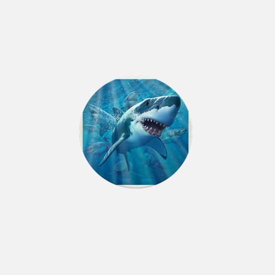 Great White 2 Mini Button