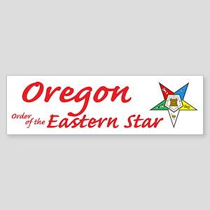 Oregon OES Bumper Sticker