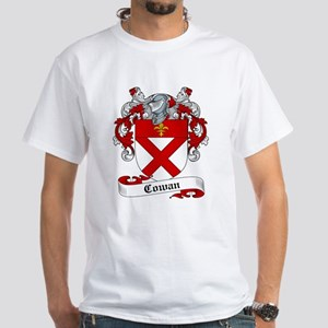 Cowan Family Crest White T-Shirt
