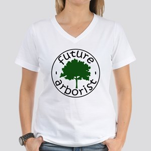 Future Arborist Women's V-Neck T-Shirt