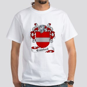 Crawford Family Crest White T-Shirt