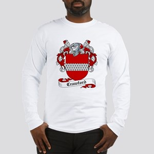 Crawford Family Crest Long Sleeve T-Shirt